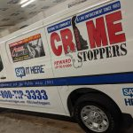Bowers Signs Crime Stoppers